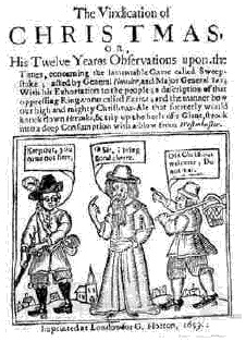 How the Puritans Stole Christmas | New Histories